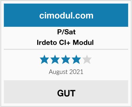 PSat Irdeto CI+ Modul  Test