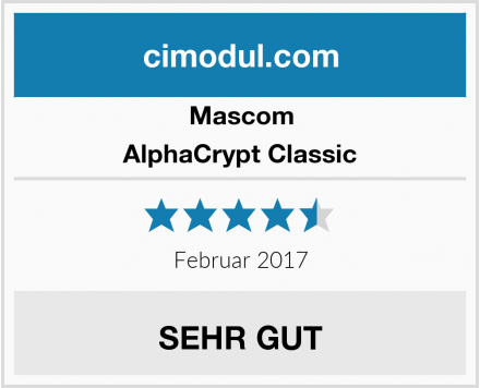 Mascom AlphaCrypt Classic Test
