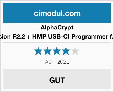 AlphaCrypt Light CI Modul Version R2.2 + HMP USB-CI Programmer f. Alphacrypt Module Test