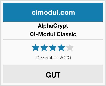 AlphaCrypt CI-Modul Classic Test