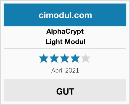 AlphaCrypt Light Modul Test