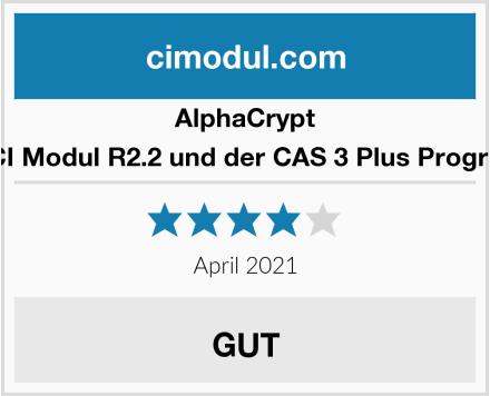 AlphaCrypt Light CI Modul R2.2 und der CAS 3 Plus Programmer Test