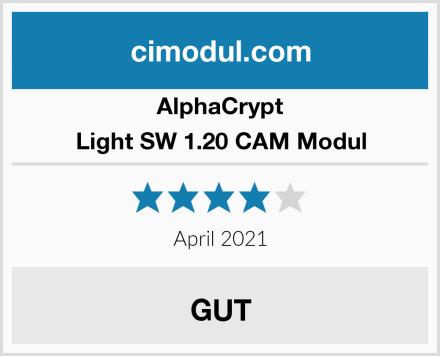 AlphaCrypt Light SW 1.20 CAM Modul Test