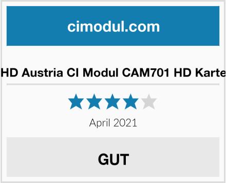 HD Austria CI Modul CAM701 HD Karte Test