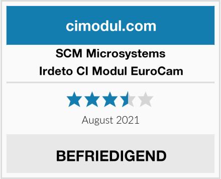 SCM Microsystems Irdeto CI Modul EuroCam Test