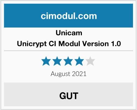 Unicam Unicrypt CI Modul Version 1.0 Test