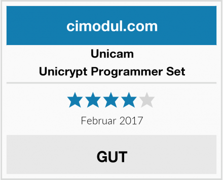 Unicam Unicrypt Programmer Set Test