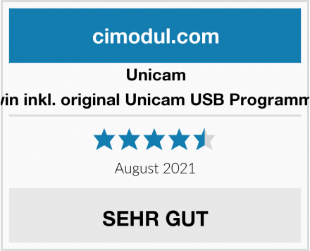 Unicam Twin inkl. original Unicam USB Programmer Test
