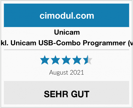 Unicam Twin inkl. Unicam USB-Combo Programmer (vertikal) Test