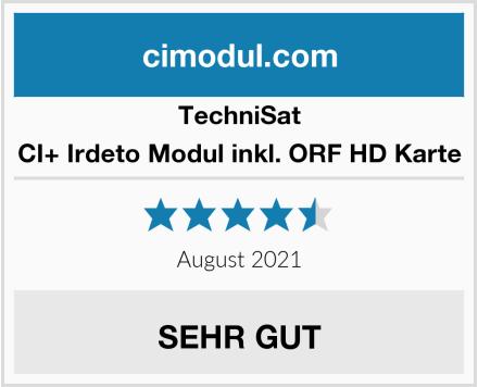TechniSat CI+ Irdeto Modul inkl. ORF HD Karte Test