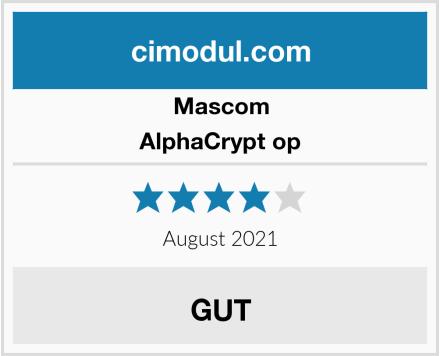 Mascom AlphaCrypt op Test