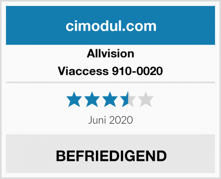 Allvision Viaccess 910-0020 Test