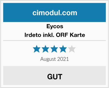 Eycos Irdeto inkl. ORF Karte Test