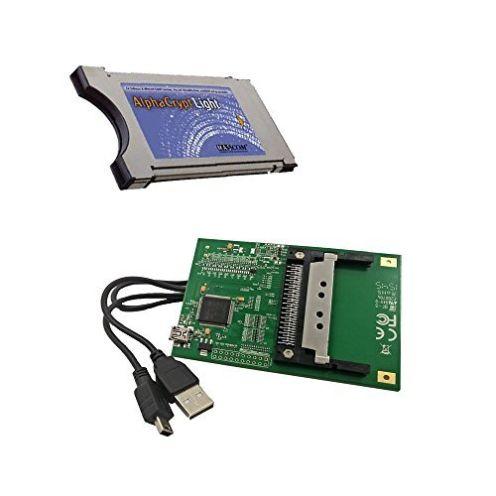 AlphaCrypt Light CI Modul Version R2.2 + HMP USB-CI Programmer f. Alphacrypt Module